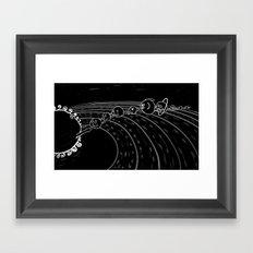 solar power I Framed Art Print
