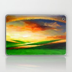 Colorful Sky - Painting Style Laptop & iPad Skin