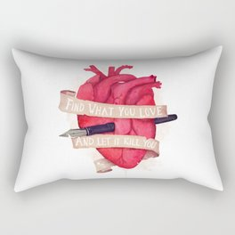Find What You Love Rectangular Pillow