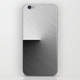 B&W 001 iPhone Skin
