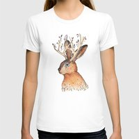 jackalope T-shirts featuring Jackalope by Sandra Dieckmann