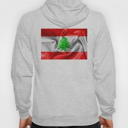 Lebanon Flag Hoody