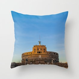 The Church Of Angels Throw Pillow