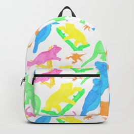 Beautiful Bright Australian Native Animals Backpack