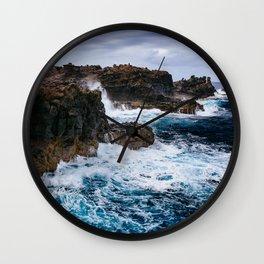 Ocean Power Wall Clock