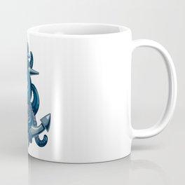 Octopus and Anchor Coffee Mug