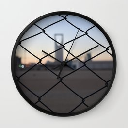 Kingdom Center in Saudi Arabia Wall Clock