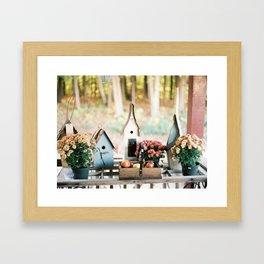 Scenes from Autumn Framed Art Print