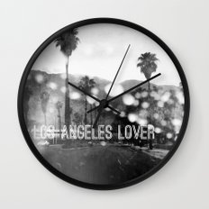 Los Angeles lover number 2 Wall Clock
