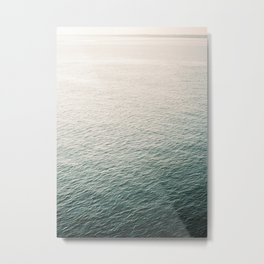 "Coastal beach photography ""Free as the ocean"" | Modern wall Art Sea Ibiza Metal Print"