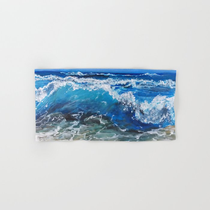 Rough Sea Hand & Bath Towel