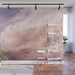 Perfect Pink Summer Sky Nature Photography Wall Mural