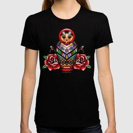 Vectorized Mexican Matryoshka 2 T-shirt