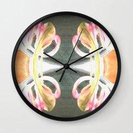 Tulip Washout Wall Clock