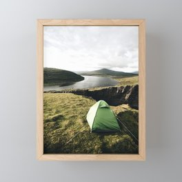 Lake Sørvágsvatn Framed Mini Art Print