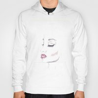 moulin rouge Hoodies featuring Rouge by Stephany Moreno