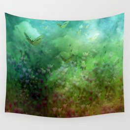 """""""The Enchanted Forest"""" (Fairyland) Wall Tapestry"""