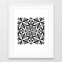 compass Framed Art Prints featuring Compass by Vadeco