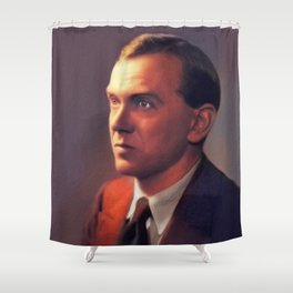 Graham Greene, Literary Legend Shower Curtain