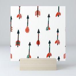 boho arrows Mini Art Print