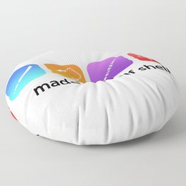 TMNT made of a half shell Floor Pillow