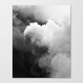 Smoke Over Yasur Canvas Print