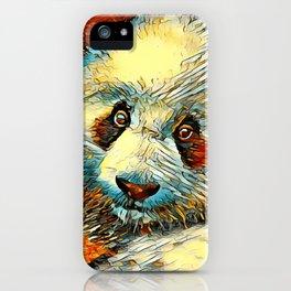 AnimalArt_Panda_20170601_by_JAMColorsSpecial iPhone Case