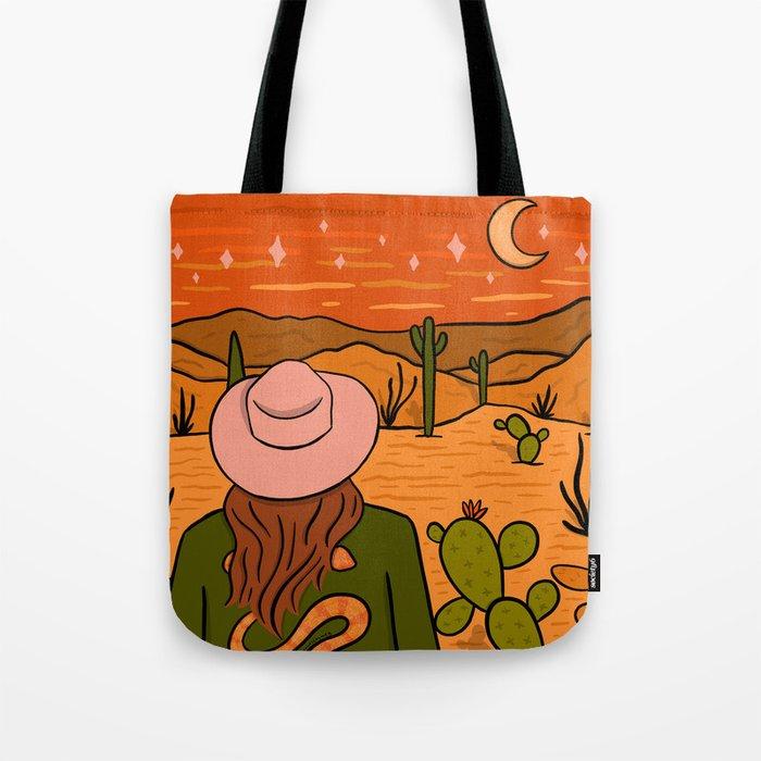 Desert Girl Tote Bag