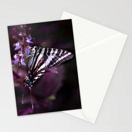 Zebra Striped Swallowtail Butterfly Stationery Cards