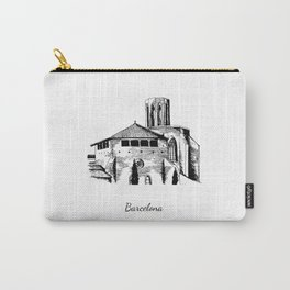 Barcelona monastery of Pedralbes Carry-All Pouch