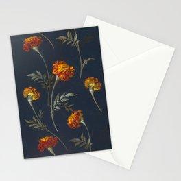 Vintage Marigolds Stationery Cards