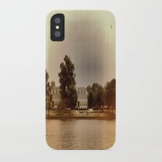 In the Past iPhone X Slim Case