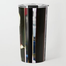 Shopping to Abstraction Travel Mug