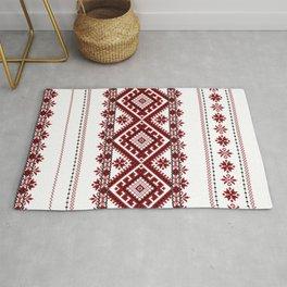 Traditional romanian motif Rug