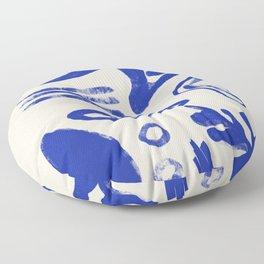 Blue Stuff Floor Pillow