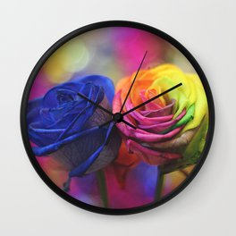 Colour Your Life Wall Clock