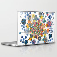 fireworks Laptop & iPad Skins featuring Fireworks by Asja Boros