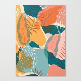Tropical Autumn Canvas Print