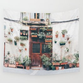 born planted Wall Tapestry
