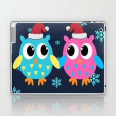 Christmas Owls Laptop & iPad Skin