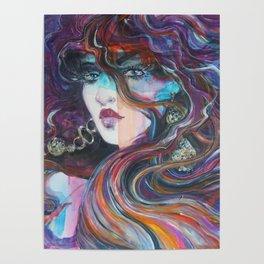 Woman portrait 2017 Poster