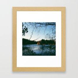 Kingswood Lake Framed Art Print