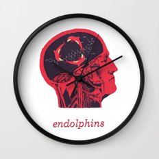 Endolphins Wall Clock