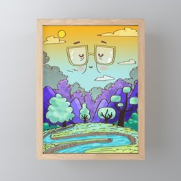 LANDSCAPE Framed Mini Art Print