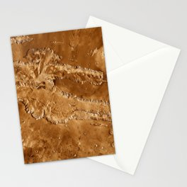 Valles Marineris Stationery Cards