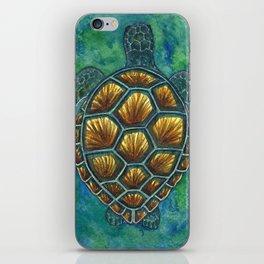 Green Sea Turtle iPhone Skin