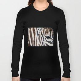 EYE OF THE ZEBRA Long Sleeve T-shirt