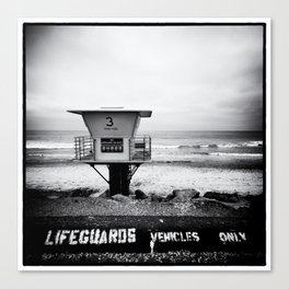 Lifeguard Vehicles Only Canvas Print