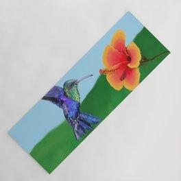 The very hungry hummingbird Yoga Mat