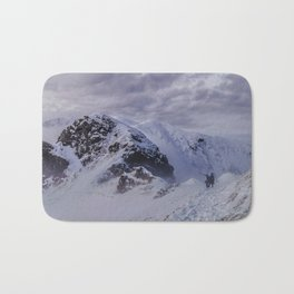 Hiking on top of The World Bath Mat
